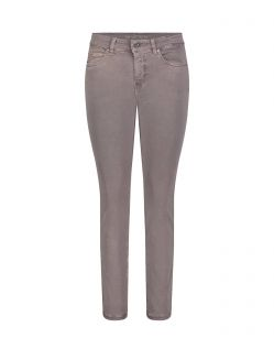 Mac Dream Skinny - Graue Jeans mit bequemer Taille