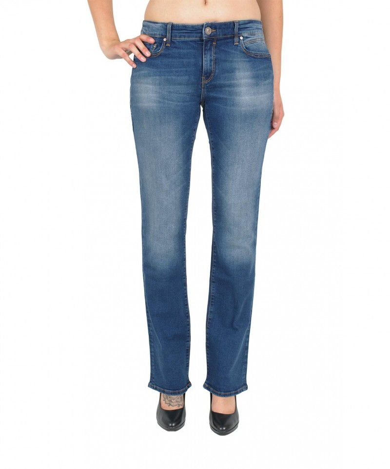 Mavi Mona Jeans - Straight Leg - Dark Paris Str.