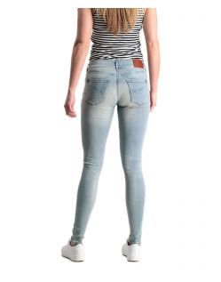 Garcia Rachelle - Super Slim-Fit-Jeans in hellblau - Hinten