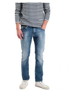Garcia Russo - Straight-Fit-Jeans in mittelblauer Waschung