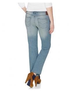 HIS COLETTA Jeans - Comfort Fit - Powder Blue - Hinten