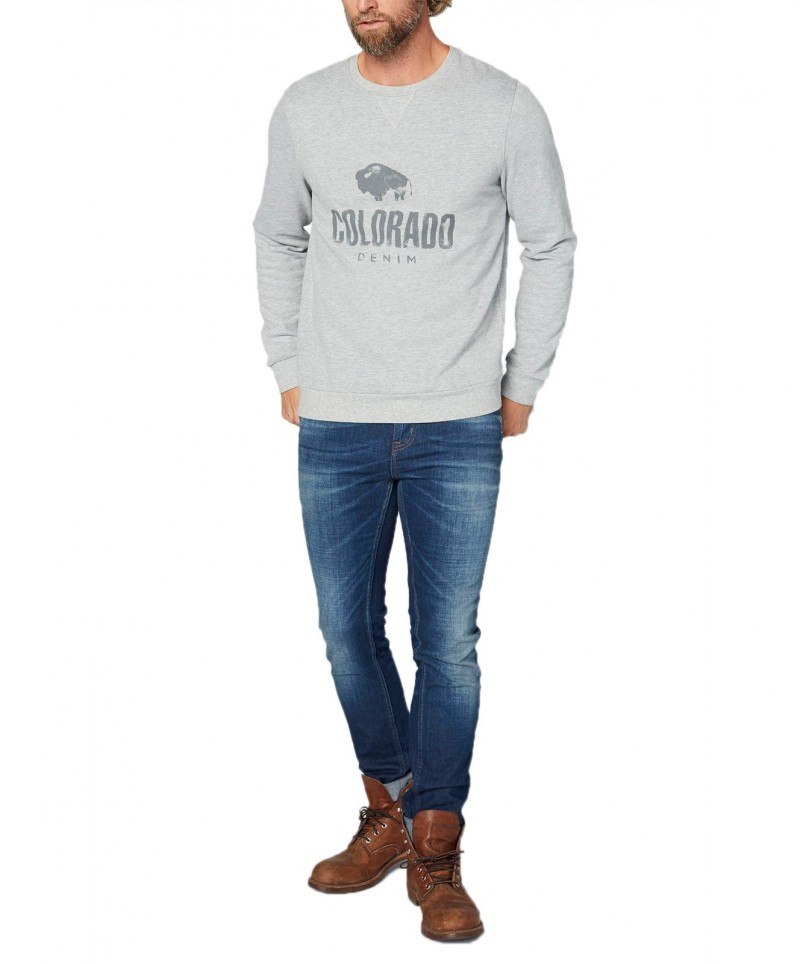 Colorado Richard - Sweatshirt - Dunkelblau