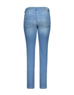 MAC DREAM Jeans - Straight Leg - Light Blue Authentic Wash - Hinten