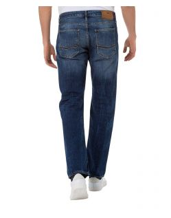 CROSS Jeans Antonio - Slightly Tapered - Deep Blue - Hinten