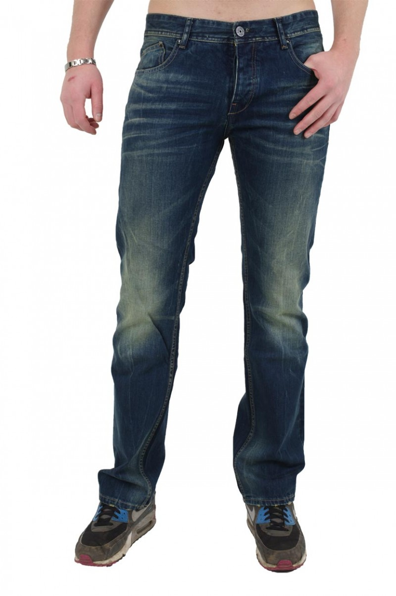 Fuga Ridge Jeans - Straight Leg - Tinted Indigo v