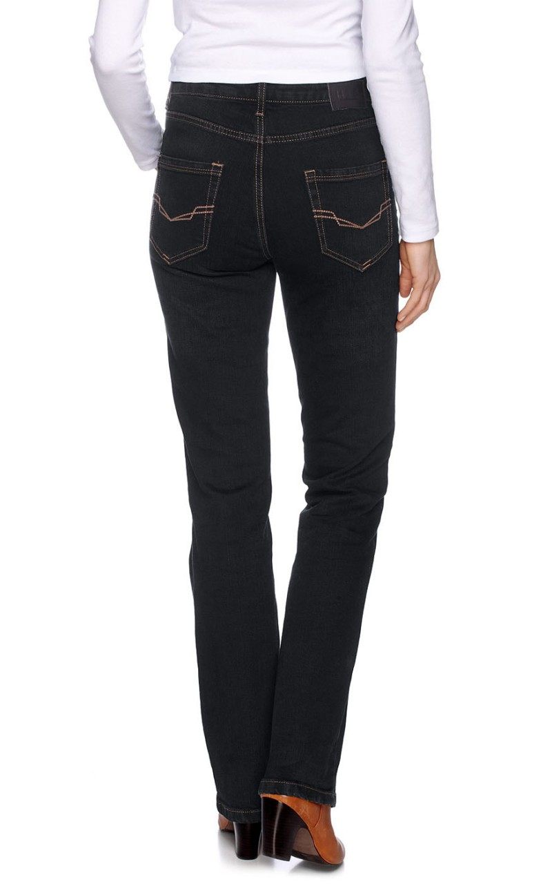HIS Coletta Jeans - Straight Leg - Dark Tinted