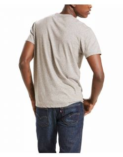 Levi's T-Shirt - Sunset Pocket - Medium Grey - Hinten
