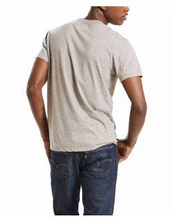 Levi's T-Shirt - Sunset Pocket - Medium Grey - Hinten