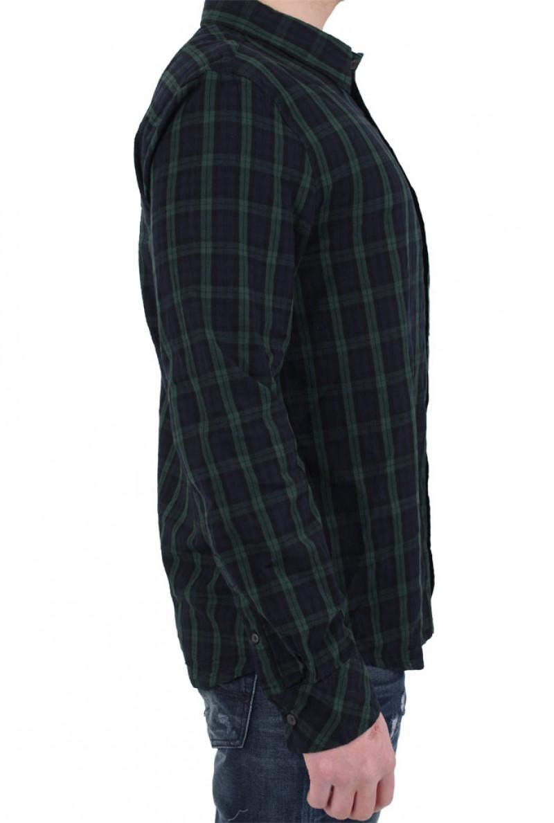 LTB SEBASTIAAN - Casual Hemd - Green Blue (Oberbekleidung)