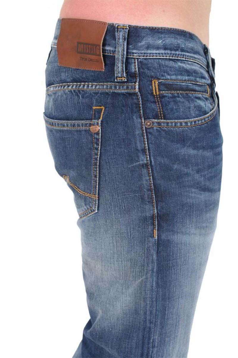 MUSTANG OREGON STRAIGHT Jeans - Slim Fit - Dark Rinse Used