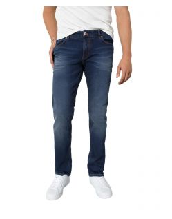 HIS STANTON - Straight Fit Jeans - Pure Dark Blue