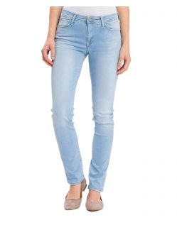 Cross Anya - Slim-Fit-Jeans in Light Blue Waschung