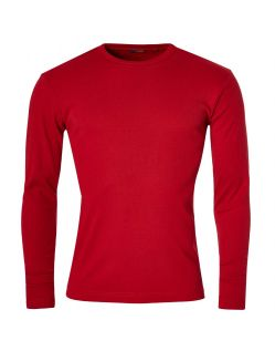 Gin Tonic Basic Longsleeve - Tight Fit - Rot