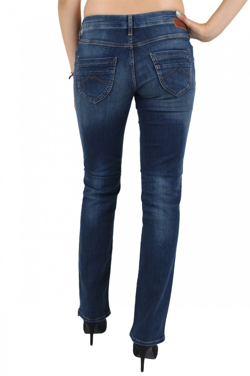 MUSTANG EMILY Jeans - Comfort Fit - Dark Scratched Used v