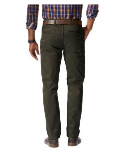 DOCKERS ALPHA - Slim Tarped - Olive