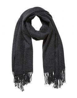 Vero Moda Solid - Fransen - Dark Grey Melange