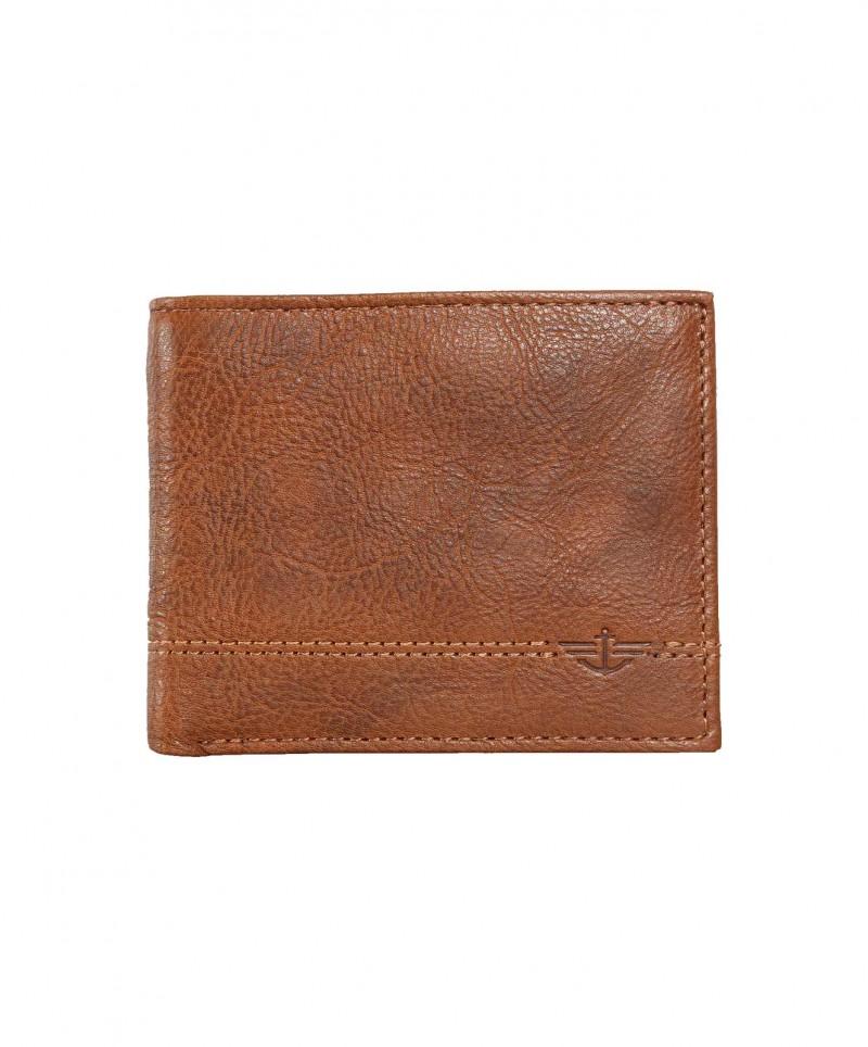 DOCKERS Passcase - Portemonnaie - Braun