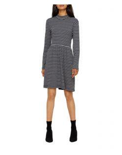 Vero Moda Seda - Minikleid aus Bio Baumwolle mit Streifenmuster
