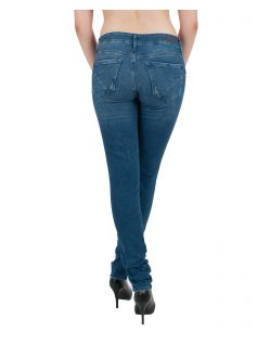 MAVI NICOLE - Super Skinny Jeans - Stretch - Mid Brushed Uptown Str - Hinten