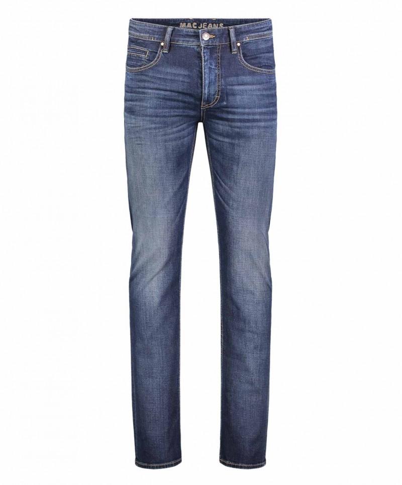 Mac Arne - dunkelblaue Vintage Jeans aus Left Hand Denim
