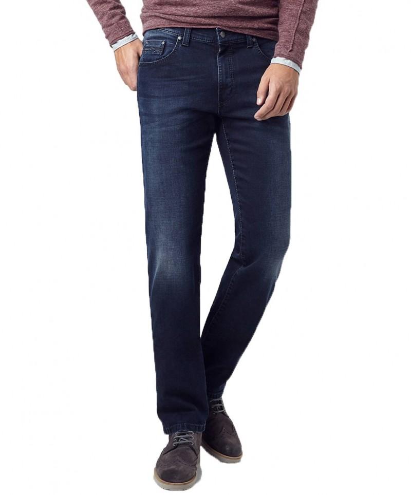Pioneer Rando - Regular Fit Jeans - Dark Used With Buffies
