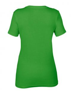Anvil T-Shirts - Sheer V-Ausschnitt  - Green Apple h