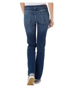 CROSS Jeans Rose - Straight Leg - Light Blue Used Crincle - Hinten