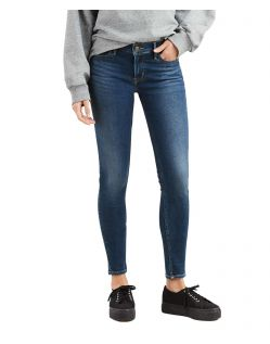 Levi's 710 - Super Skinny Jeans mit Hyperstretch in Prestige Indigo