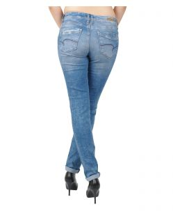 Mavi Sophie - Slim Skinny-Jeans im Destroyed Look - Hinten