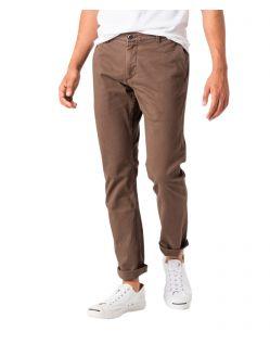 Dockers Washed - schmale geschnittene Khaki-Hose aus Stretch Twill