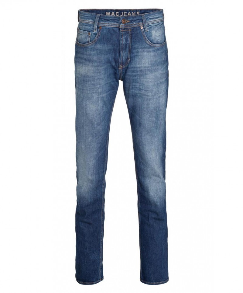 MAC ARNE PIPE Jeans - Dark Indigo Heavy Wash