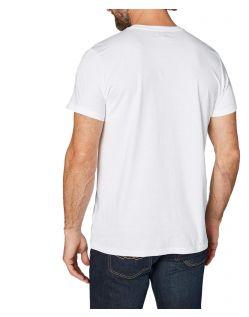 Colorado Cole - weißes T-Shirt mit retro Logo Print - Hinten