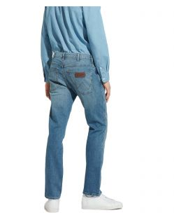 Wrangler Spencer - Hellblaue Jeans im Slim Fit f02