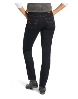 His Madison Jeans - Slim Fit - Dark Tinted - Hinten