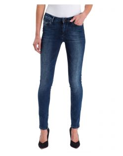 Cross Jeans Damen Skinny Alan in Dark Blue Waschung