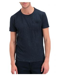 Garcia Rico - Schmal geschnittenes T-Shirt in Blau