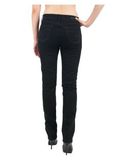 Angels Jeans Cici - Ultra Power Stretch - JetBlack - Hinten