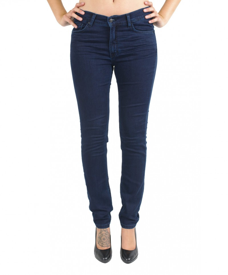 Angels Skinny Jeans - Sweat Denim - Dark Rinse