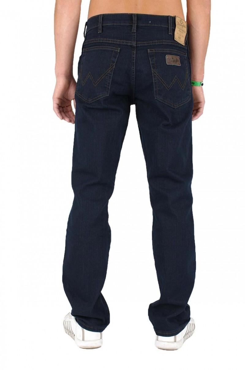 Wrangler Texas Stretch Blue Black W121 75 001