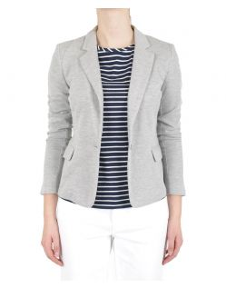 VERO MODA - Julia Blazer - Light Grey Melange  - Vorne