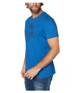 Colorado Cole - Bio-T-Shirt in hellblau mit Logo - Seite