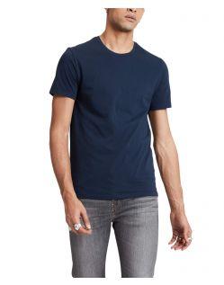 Levis T-Shirt Herren Doppelpack Crewneck in Blau / Weiß