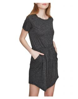 VERO MODA LUA - Kurzärmeliges Kleid - Schwarz