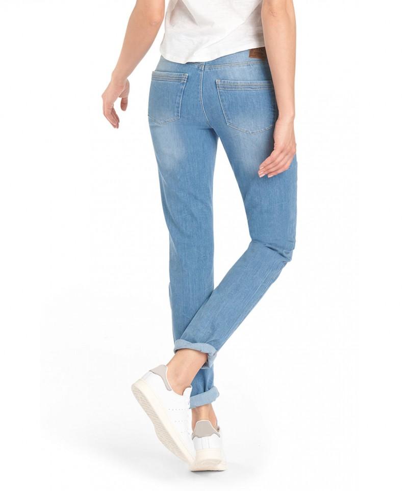 HIS MONROE Jeans - Slim Fit - Milky Blue