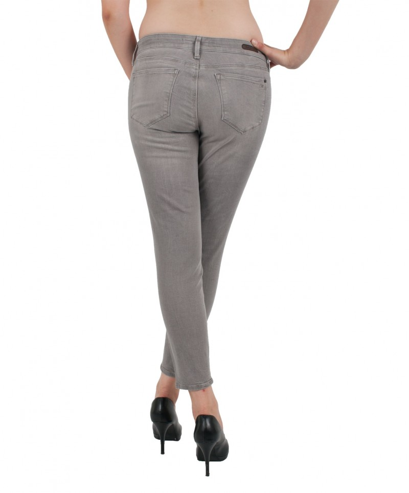 MAVI Jeans ADRIANA ANKLE Super Skinny Grey Stretch