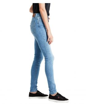 Levis 721 HIGH RISE SKINNY - Slim Fit - Black Sheep