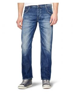 MUSTANG MICHIGAN STRAIGHT Jeans - Light Scratched Used