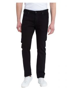 Cross Jeans Damien - Schwarze Jeans im Slim Straight Fit