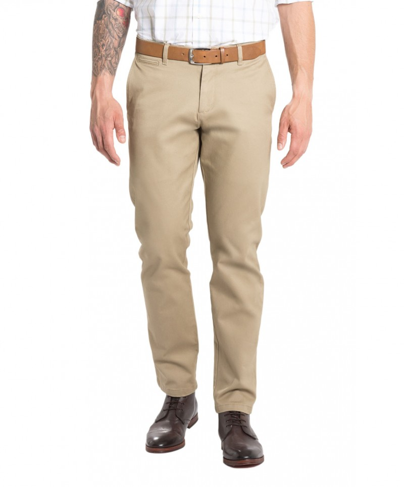 DOCKERS MARINA - Slim Tapered - British Khaki