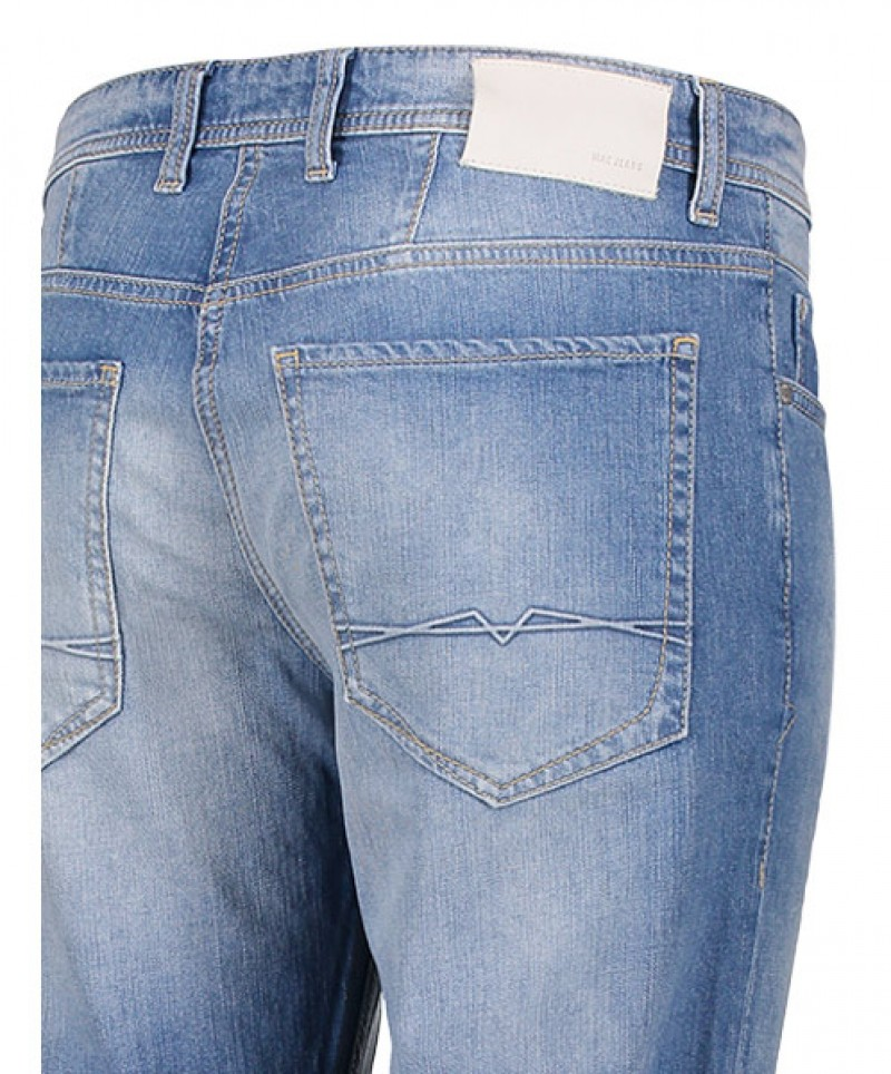 MAC ARNE Jeans - Modern Fit - Authentic Blue Stone Wash